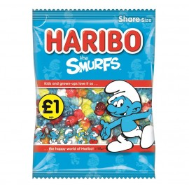 Haribo £1 PM Smurfs 180g 12 pack Food