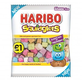 Haribo £1 PM Squidglets 180g 12 pack Food