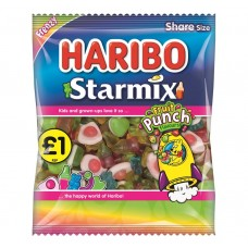 Haribo £1 PM Starmix Fruit Punch 180g 12 pack Food
