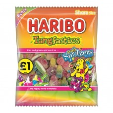 Haribo £1 PM Tangfastics Fruit Spritzer 180g 12 pack Food