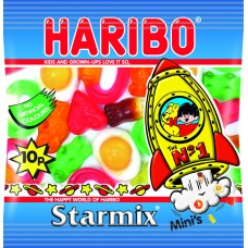 Haribo 10p PM Starmix 16g Food