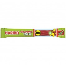 Haribo 30p PM Strawberry Twist Bar 25g