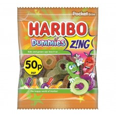 Haribo 50p PM Dummies Zing 70g Food