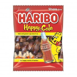 Haribo Happy Cola Bottles 140g Food