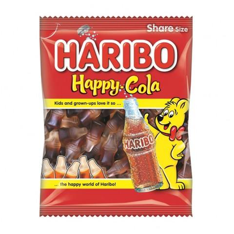 Haribo Happy Cola Bottles 140g Food