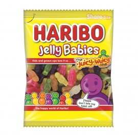 Haribo Jelly Babies 140g Food