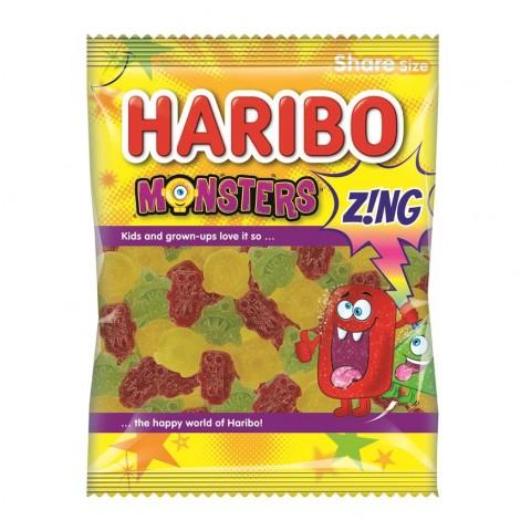Haribo Monster Zing 140g Food