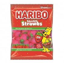 Haribo Squidgy Strawbs 140g