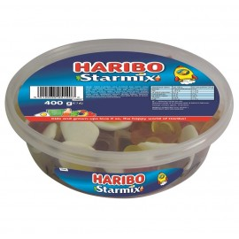 Haribo Starmix Drum 400g Food