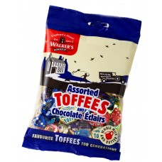 Walkers Nonsuch Assorted Toffees & Eclairs 150g