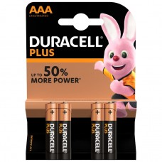 Duracell AAA Plus Power 4 Pack Hardware