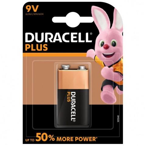 Duracell 9v Plus Power 1 Pack Hardware