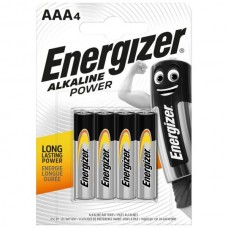 Energizer AAA Alkaline Power Battery 4 pack Hardware