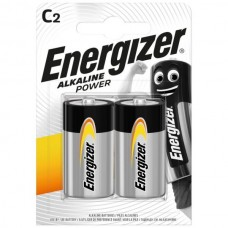 Energizer C Alkaline Power Battery 2 pack Hardware