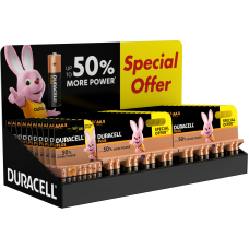 Duracell Special Offer CDU Hardware