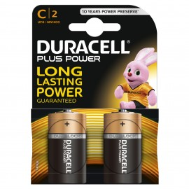 Duracell C Plus Power 2 Pack Hardware