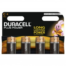 Duracell C Plus Power 4 Multi Pack