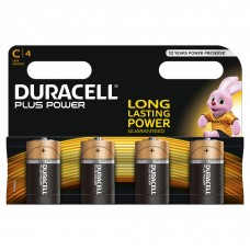 Duracell C Plus Power 4 Multi Pack   Hardware