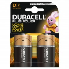 Duracell D Plus Power 2 Pack Hardware
