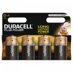 Duracell D Plus Power 4 Multi Pack   Hardware