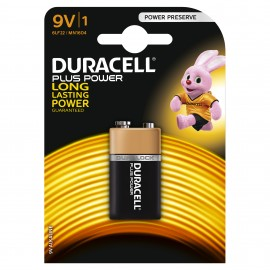 Duracell 9v Plus Power 1 Pack Hardware