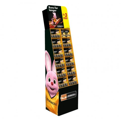 Duracell Floor Display Stand Hardware