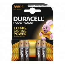 Duracell AAA Plus Power 4 Pack