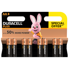 Duracell AA Special Offer 8 Pack  Hardware
