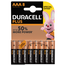Duracell AAA Special Offer 8 Pack  Hardware