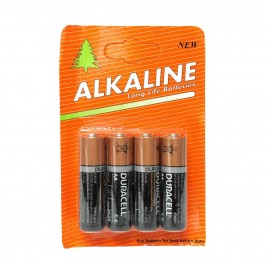 Alkaline Duracell AA 4 Pack Hardware