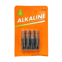 Alkaline Duracell AAA 4 Pack