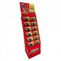 Eveready Floor Display Stand