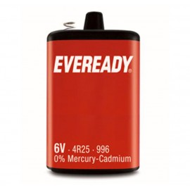 Eveready PJ996 4R25 6v 1 Pack Hardware