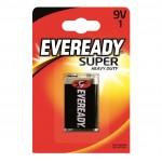 Eveready 9v Super Heavy Duty 1 Pack Hardware