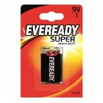 Eveready 9v Super Heavy Duty 1 Pack