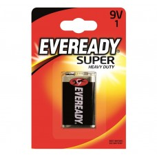 Eveready 9v Super Heavy Duty 1 Pack Hardware
