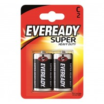 Eveready C Super Heavy Duty 2 Pack