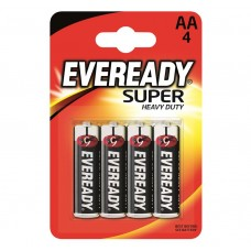 Eveready AA Super Heavy Duty 4 Pack Hardware