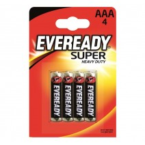 Eveready AAA Super Heavy Duty 4 Pack