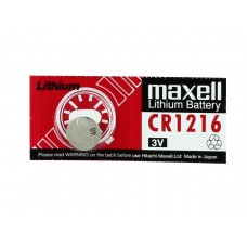Maxell Lithium Coin Cell CR1216 3V Hardware