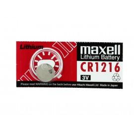Maxell Lithium Coin Cell CR1216 3V Hardware