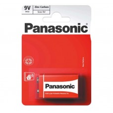 Panasonic 9v Zinc Carbon 1 Pack  Hardware