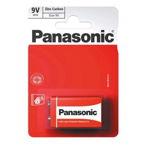 Panasonic 9v Zinc Carbon 1 Pack  Hardware