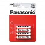 Panasonic AAA Zinc Carbon 4 Pack  Hardware