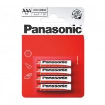 Panasonic AAA Zinc Carbon 4 Pack