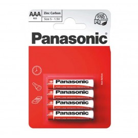 Panasonic AAA Zinc Carbon 4 Pack  Hardware