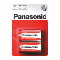 Panasonic C Zinc Carbon 2 Pack