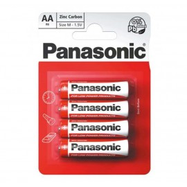 Panasonic AA Zinc Carbon 4 Pack  Hardware