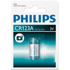 Philips CR123A Lithium Camera Battery 3v Hardware