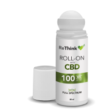 ReThink CBD Muscle & Joint Roll-On 100mg Health Care
